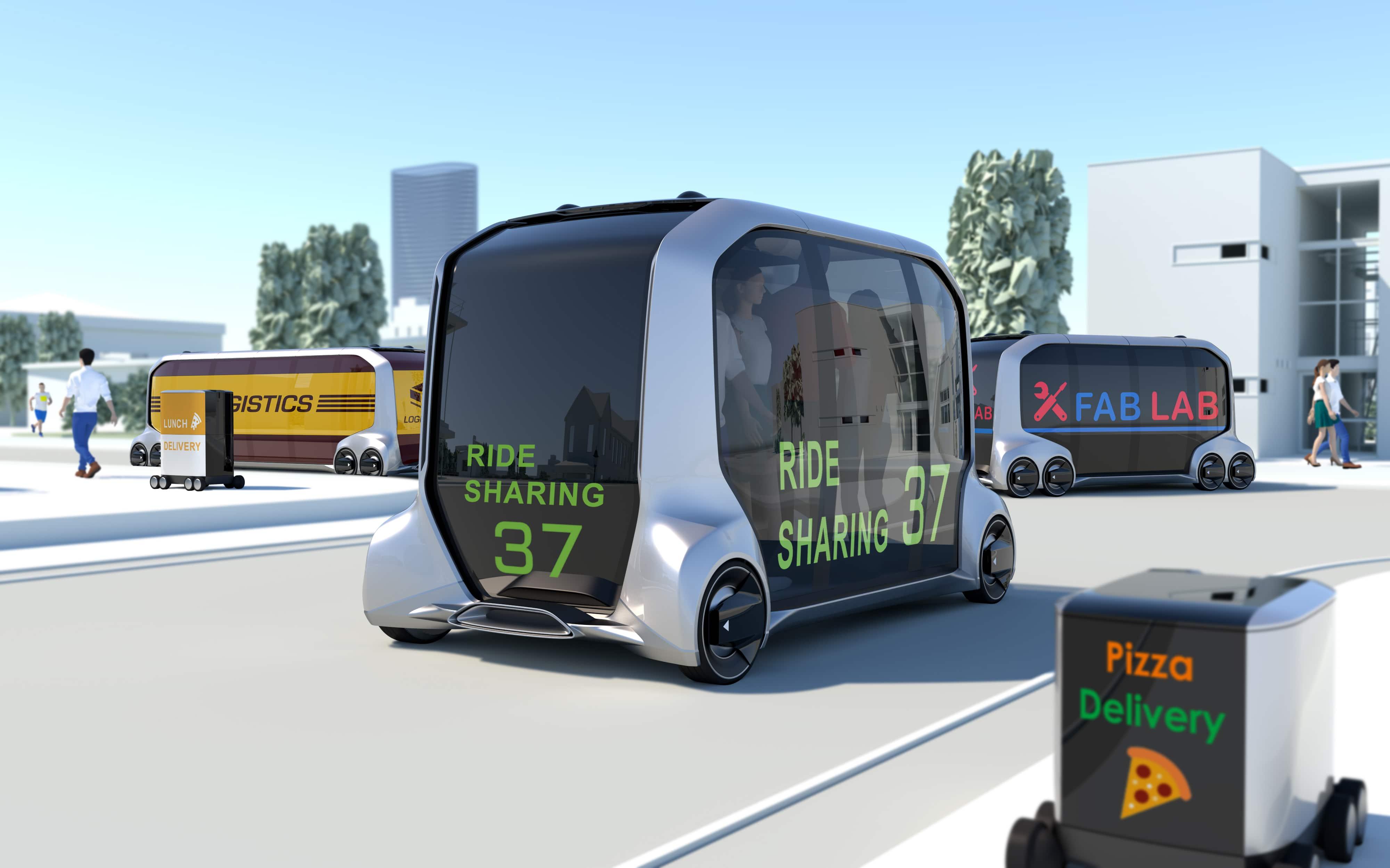 خودروی الکتریکی تویوتا المپیک