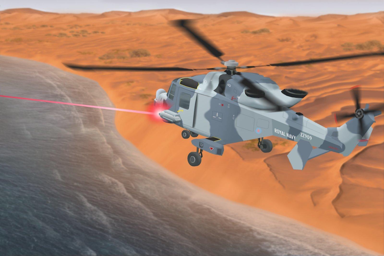 سلاحهای لیزری قدرتمند بریتانیا موشکها و هواپیماهای بدون سرنشین را در آسمان نابود میکند