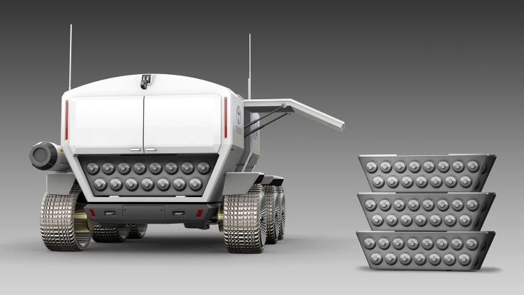 سلول های سوختی ماهنورد تویوتا