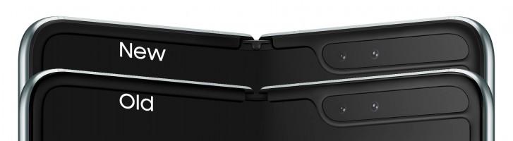 تغییراتی که در طراحی گوشی گلکسی فولد سامسونگ انجام شده است