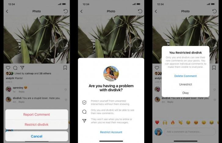 قابلیتهای جدید اینستاگرام با زورگویان و مزاحمها مبارزه میکنند
