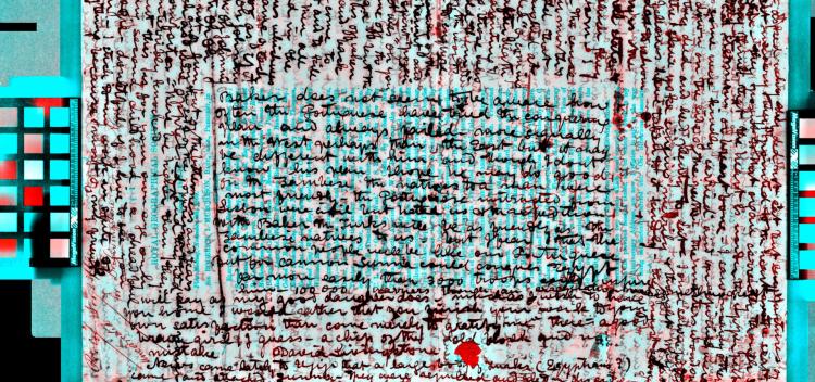 نسخه خطی باستانی نامرئی