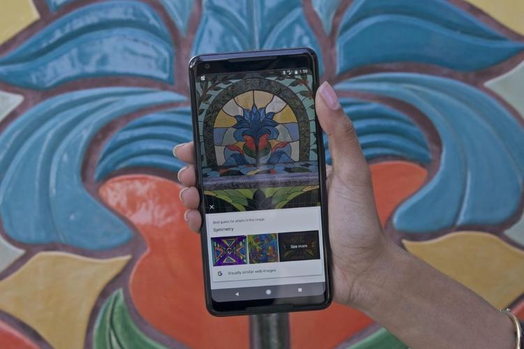گوگل لنز تشخیص آثار هنری