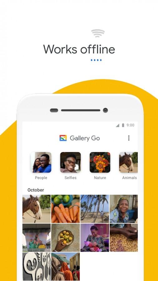 گوگل نسخه سبک اپلیکیشن Photos به اسم Gallery Go را عرضه میکند 2