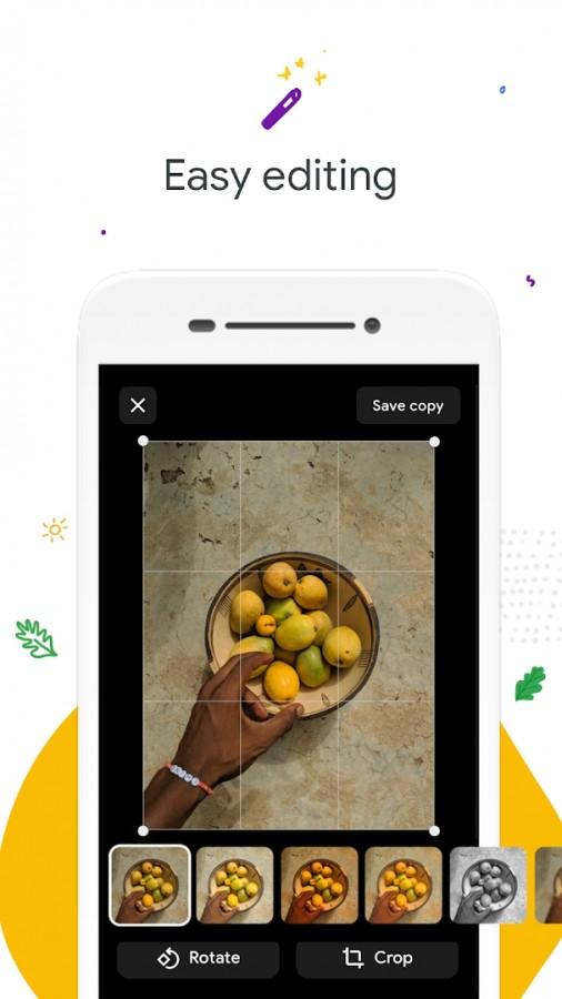گوگل نسخه سبک اپلیکیشن Photos به اسم Gallery Go را عرضه میکند 3