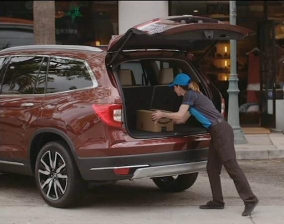 ارسال درون خودرویی آمازون