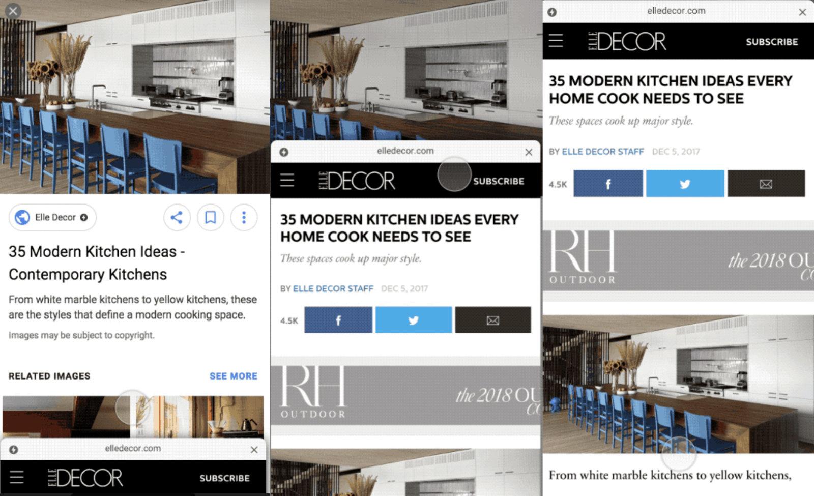 روکیدا | گوگل، جستجو بر پایۀ AMP را برای تصاویر خود بکار میگیرد! | افزایش سئو, وب / اینترنت, گوگل