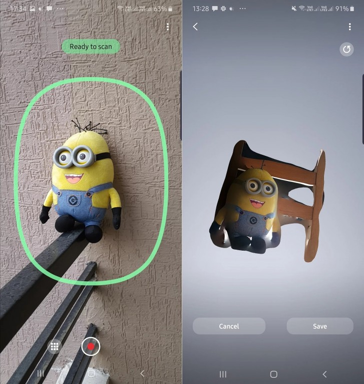 اپلیکشن اسکنر سه بعدی