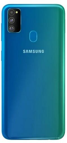 تصویر جدید گوشی گلکسی M30s سامسونگ آن را به رنگ سبز – آبی به تصویر میکشد