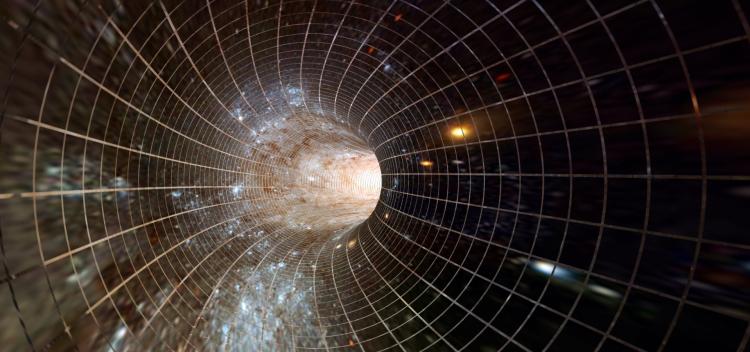 توقف زمان و سفر در فضا زمان