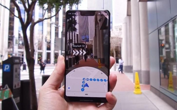 قابلیت Live View گوگل مپ در اختیار گوشیهای اندرویدی بیشتر و گوشیهای iOS قرار گرفت