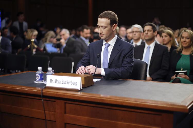 مارک زاکربرگ فیسبوک دادگاه