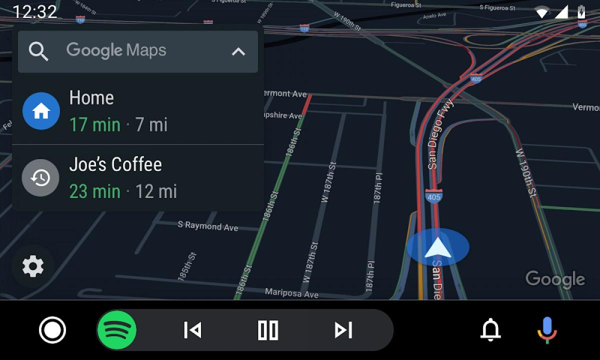 Android Auto بهروزرسانی شد