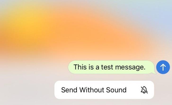 پیام بی صدا در تلگرام