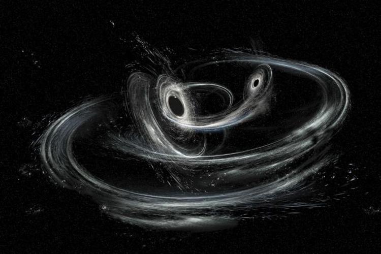 امواج گرانشی سیاهچاله