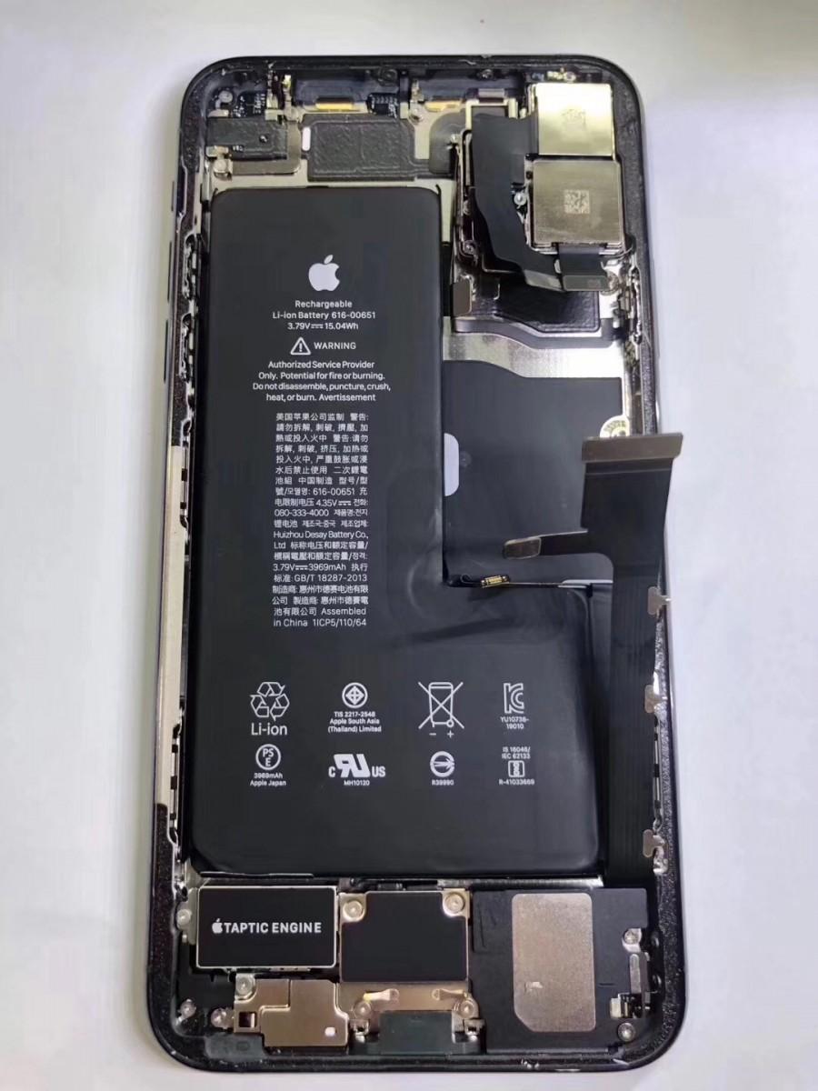 اولین کالبدشکافی گوشی آیفون پرو 11 مکس استفاده از باتری 4000 میلیآمپر ساعت را تایید میکند