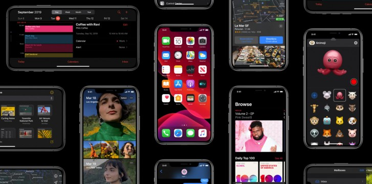 اپل بهروزرسانی iOS 13 را منتشر کرد؛ حالت تیره، سفارشیسازی مموجی جدید و تغییرات متعدد دیگر 1
