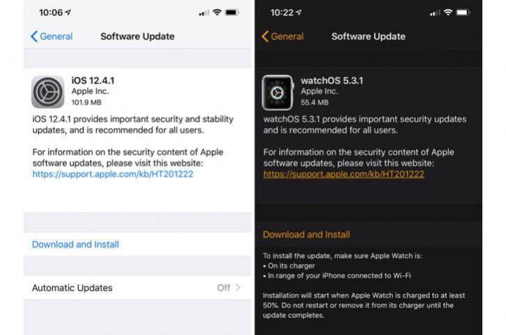 بهروزرسانیهای جدید اپل مشکلات امنیتی را رفع میکنند