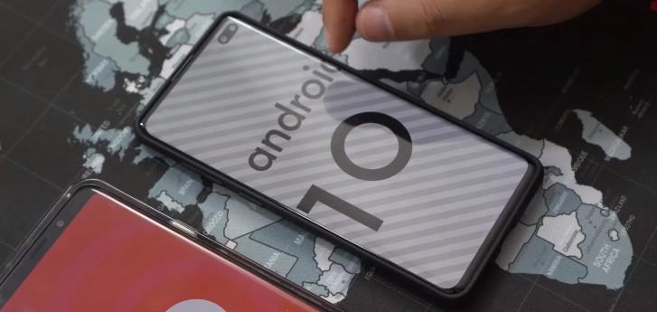 دو گوشی گلکسی نوت 10 و اس 10 در اکتبر بهروزرسانی اندروید 10 را دریافت میکنند