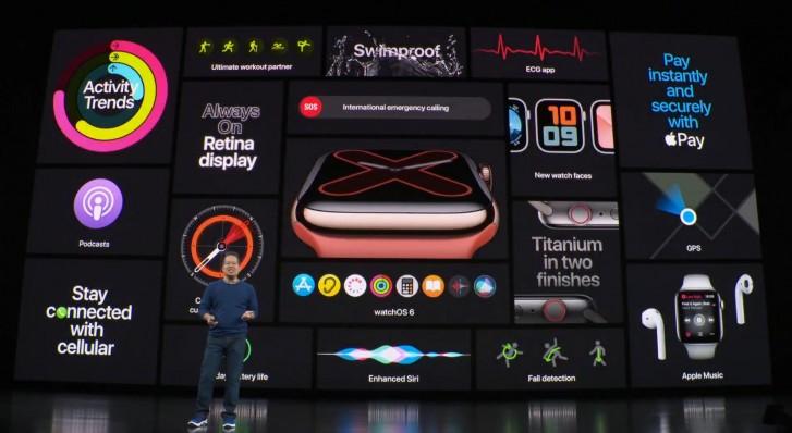 سری 5 اپلواچ رسما معرفی شد، برخورداری از قابلیت نمایشگر همیشه روشن