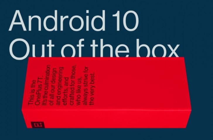 گوشی وانپلاس 7T با اندروید 10 معرفی خواهد شد