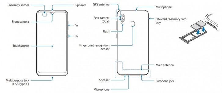 گوشی گلکسی M10s سامسونگ نمایشگر امولد، دوربین اولترا واید و شارژ سریع خواهد داشت