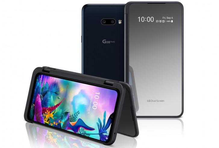 گوشی G8X ThinQ ال جی معرفی شد، نمایشگر دوگانه بهتر و دوربین سلفی 32 مگاپیکسل