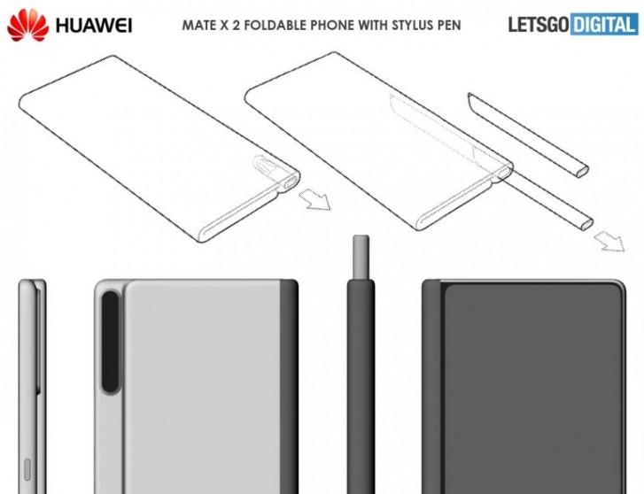 گوشی Mate X 2 هوآوی یک قلم خواهد داشت