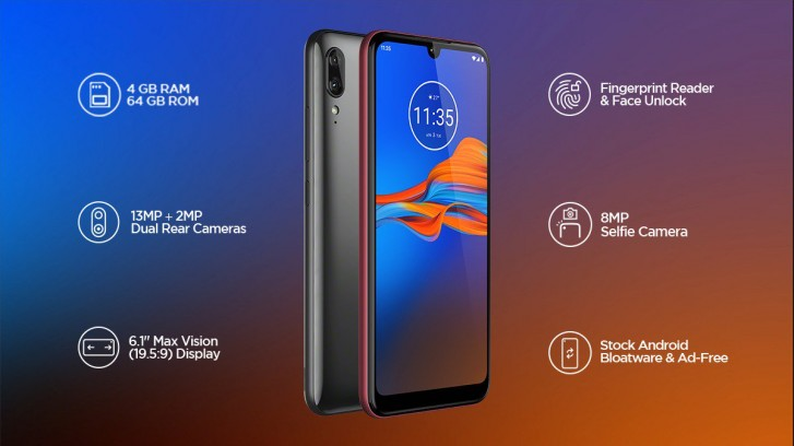 گوشی Motorola E6S رسما در هند معرفی شد