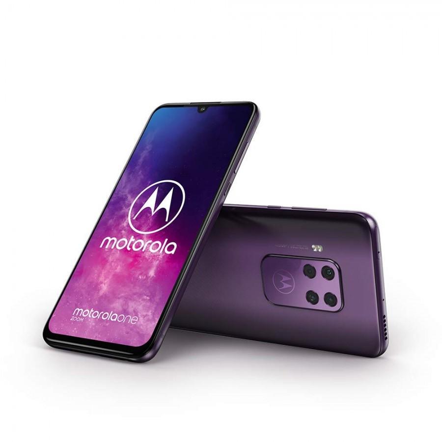 گوشی Motorola One Zoom با دوبین 48 مگاپیکسل و نمایشگر اولد 6.4 اینچ معرفی شد