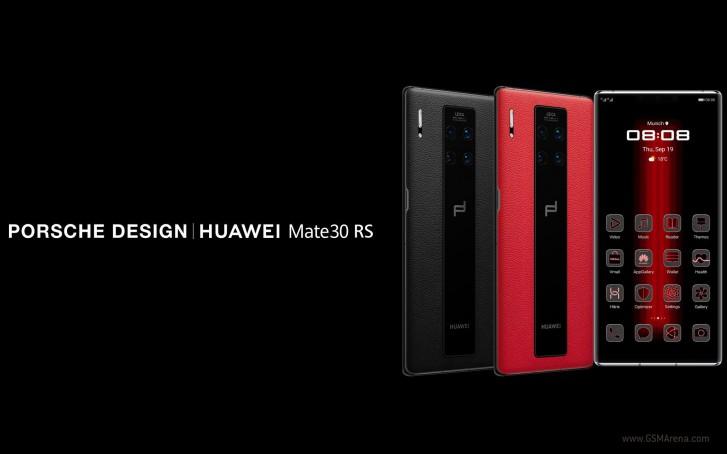 گوشی Porsche Design Huawei Mate 30 RS با طراحی خیرهکننده و قیمت هنگفت به بازار میآید