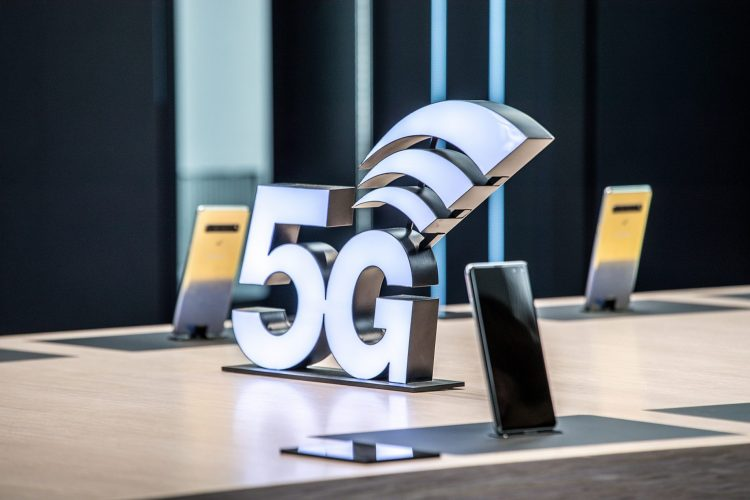 5G MWC 2019 2 07. Samsung Booth overall