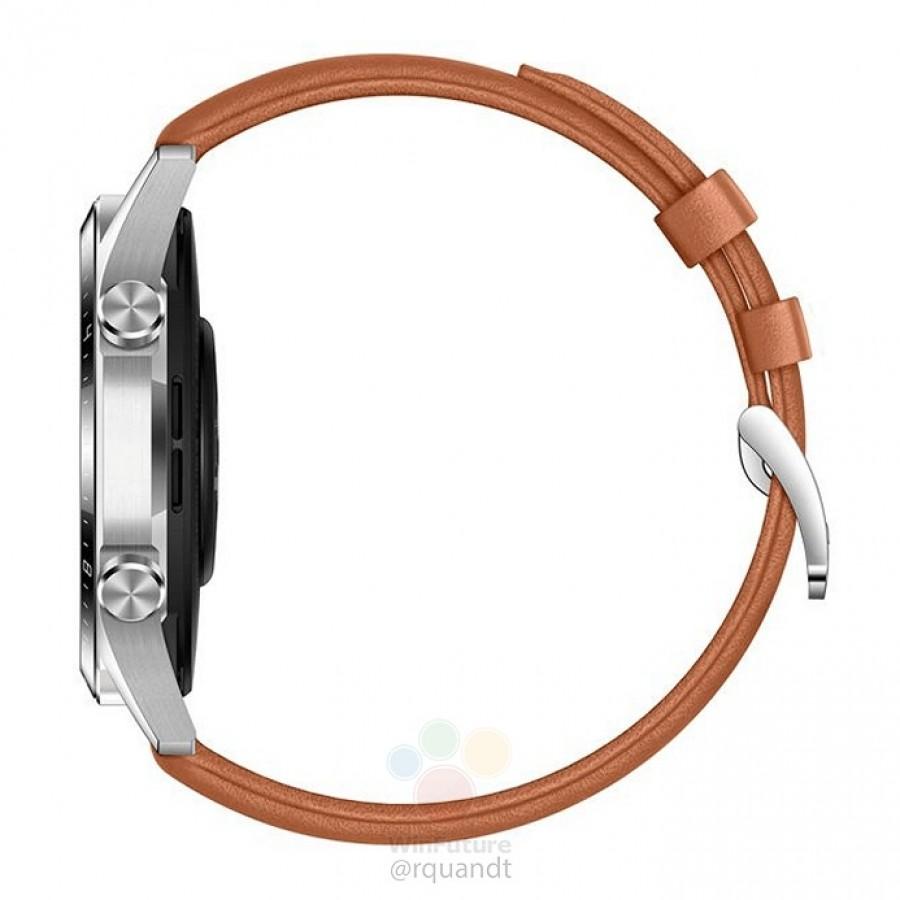روکیدا | تصاویر ساعت هوشمند Watch GT 2 هوآوی به بیرون درز پیدا کرد؛ حواشی کوچکتر و باتری بزرگتر | هوآوی