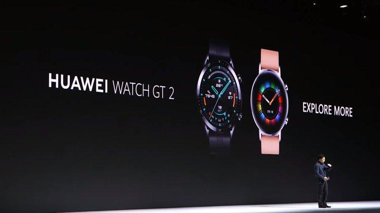 Huawei watch GT2 youtube screencap