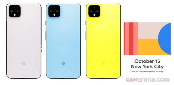جدیدترین تصاویر گوشی Pixel 4 گوگل آن را به رنگهای متنوع نشان میدهد