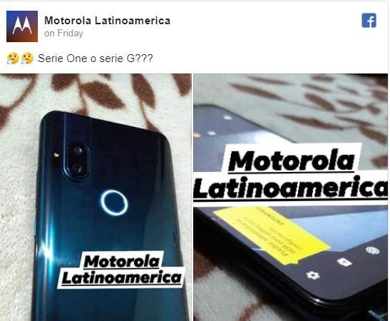 صفحه طرفداران موتورلا تصویر گوشی عرضه نشده این شرکت با دوربین پاپآپ سلفی را منتشر کردند 2