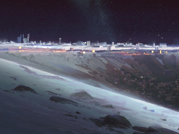 لونا ماه جدید علمی-تخیلی داستان