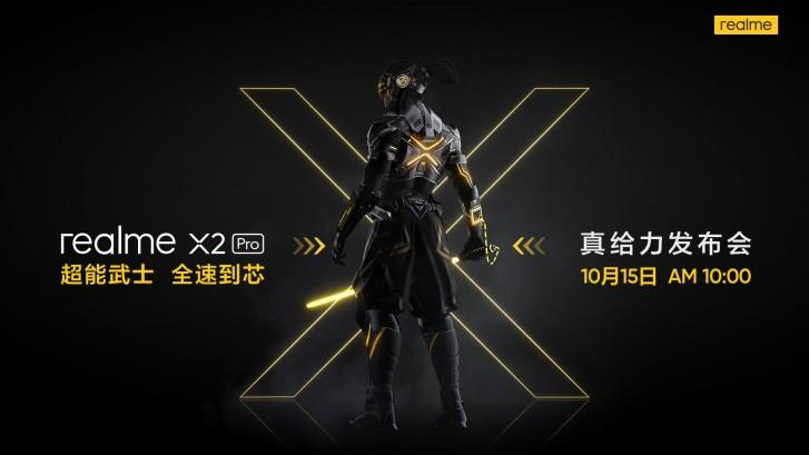 مشخصات کامل و تصویر رسمی گوشی Realme X2 Pro منتشر شد؛ رونمایی در 15 اکتبر در چین