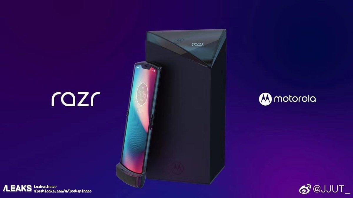 موتورولا در آبانماه از گوشی تاشو RAZR 2019 رونمایی میکند