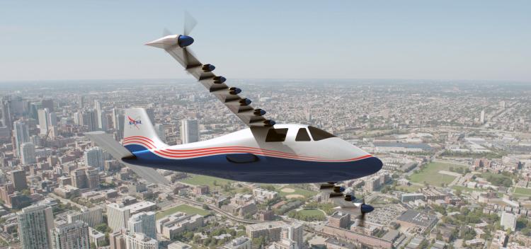 هواپیمای الکتریکی ناسا