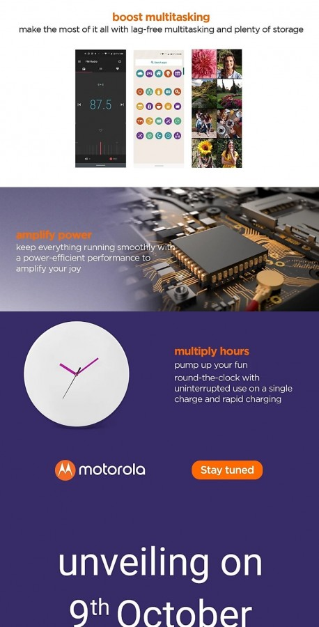 گوشی One Macro موتورولا 9 اکتبر رونمایی میشود