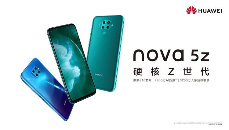 Huawei Nova 5z fot. Huawei