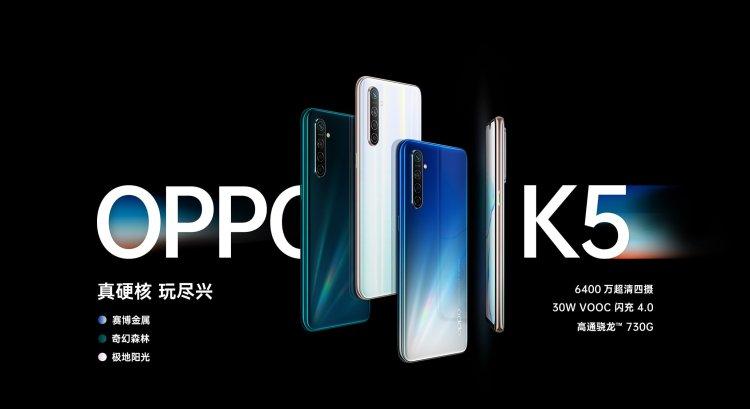 OPPO K5 header