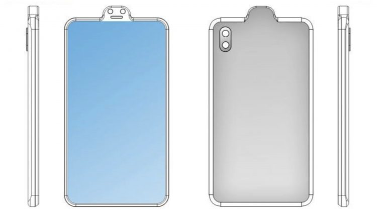 Xiaomi Reverse Notch Patent 1