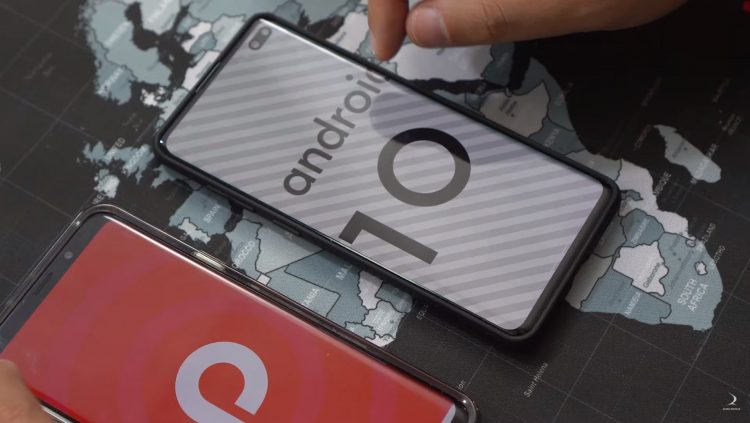 galaxy s10 android 10