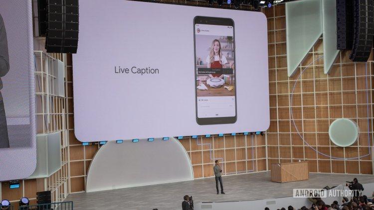 google io 19 live caption