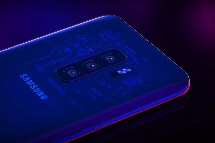 triple camera Galaxy S10