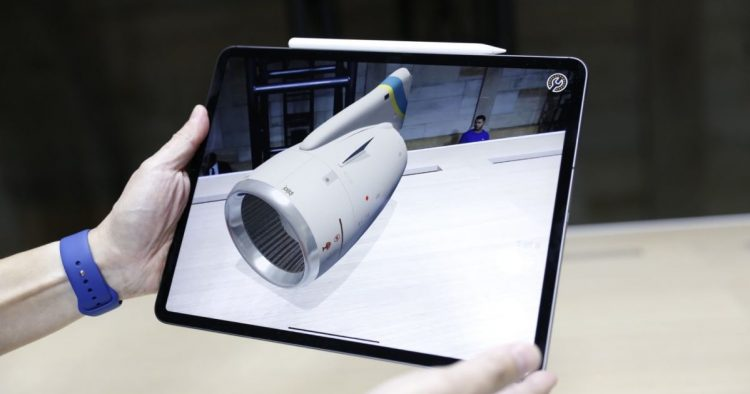 آیپد پرو اپل ماژول دوربین حسگر 3 بعدی خواهد داشت