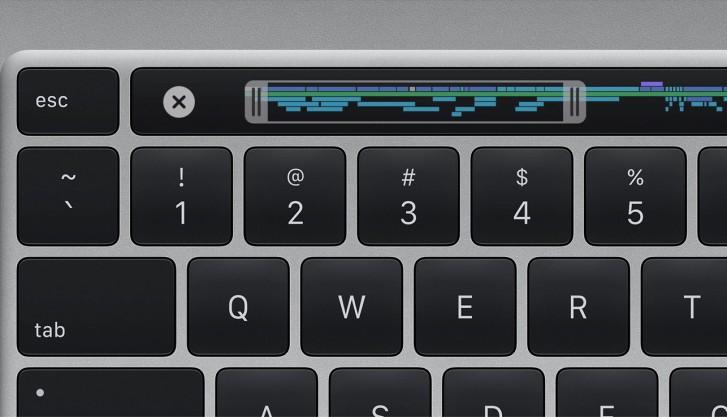 از مکبوک پرو با صفحه کلید جدید و پردازندههای نسل نهم اینتل رونمایی کرد 3