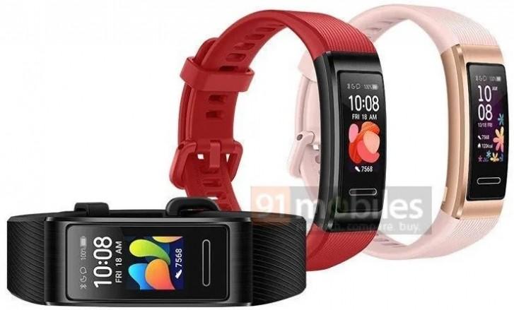 جدیدترین تصاویر دستبند هوشمند Band 4 Pro هوآوی به بیرون درز کرد